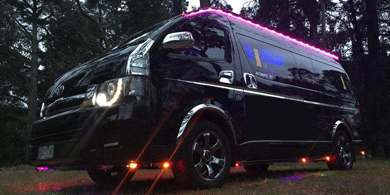 Hiring Minibus Melbourne