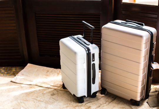 the luggage storage